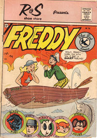 Cover Thumbnail for Freddy (Charlton, 1959 series) #14 [R & S Shoe Store]