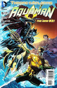 Cover Thumbnail for Aquaman (DC, 2011 series) #15