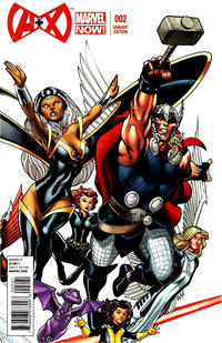 Cover Thumbnail for A+X (Marvel, 2012 series) #2 [Variant Cover by Ed McGuinness]
