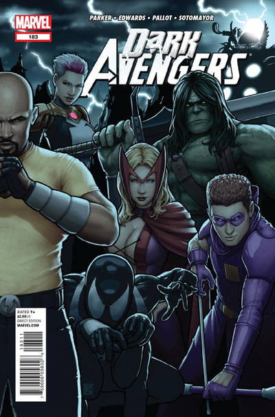 Cover for Dark Avengers (2012 series) #183