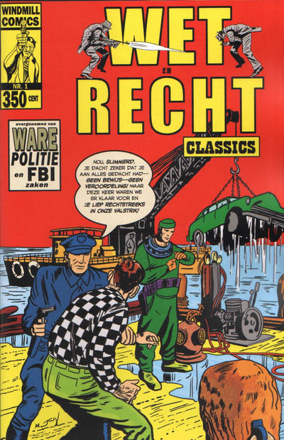 Cover for Wet en Recht Classics (Windmill Comics, 2012 series) #1