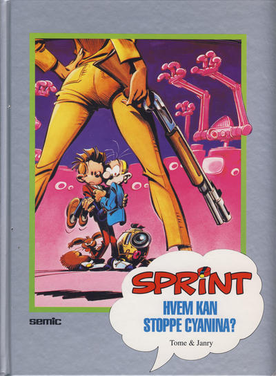 Cover for Sprint [Seriesamlerklubben] (Semic, 1986 series) #[27] - Hvem kan stoppe Cyanina?
