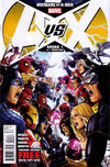 Cover for Avengers Vs. X-Men (2012 series) #1 [Sketch Variant Cover by Ryan Stegman]