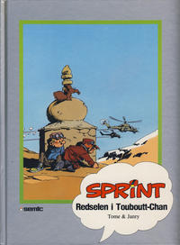 Cover Thumbnail for Sprint [Seriesamlerklubben] (Semic, 1986 series) #[35] - Redselen i Touboutt-Chan