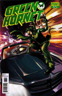 Cover Thumbnail for Green Hornet (Dynamite Entertainment, 2010 series) #32 [Stephen Sadowski Cover]