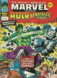 Cover Thumbnail for The Mighty World of Marvel (Marvel UK, 1972 series) #313