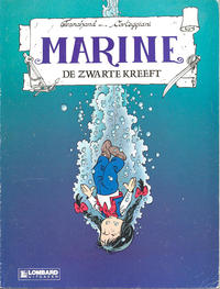 Cover Thumbnail for Marine (Le Lombard, 1988 series) #8 - De zwarte kreeft