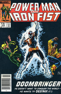 Cover Thumbnail for Power Man and Iron Fist (Marvel, 1981 series) #103 [Canadian Newsstand]