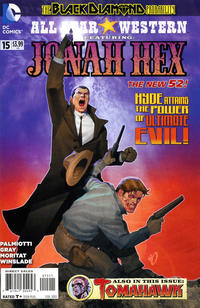 Cover for All Star Western (2011 series) #15