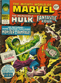 Cover Thumbnail for The Mighty World of Marvel (Marvel UK, 1972 series) #309