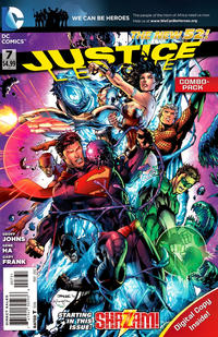 Cover Thumbnail for Justice League (DC, 2011 series) #7 [Combo Pack]