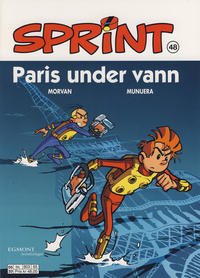 Cover Thumbnail for Sprint (Egmont Serieforlaget, 1998 series) #48 - Paris under vann [Reutsendelse 803 65]