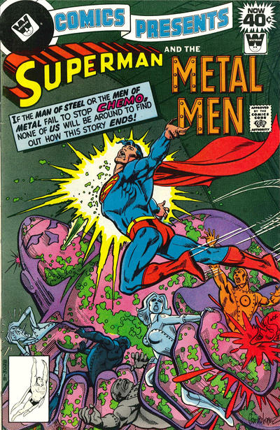 Cover for DC Comics Presents (DC, 1978 series) #4 [Whitman Variant]