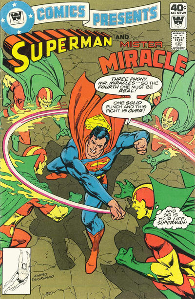 Cover for DC Comics Presents (DC, 1978 series) #12