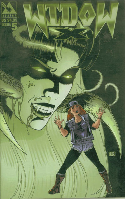 Cover for Widow X (Avatar Press, 1999 series) #5 [Regular edition]