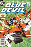 Cover Thumbnail for Blue Devil (1984 series) #29 [Newsstand]