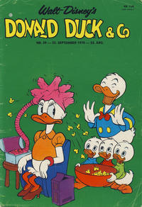 Cover Thumbnail for Donald Duck & Co (Hjemmet, 1948 series) #39/1970