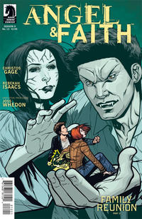Cover Thumbnail for Angel & Faith (Dark Horse, 2011 series) #12 [Rebekah Isaacs Alternate Cover]