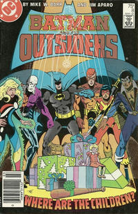 Cover Thumbnail for Batman and the Outsiders (DC, 1983 series) #8 [Newsstand]