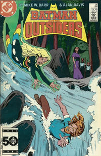 Cover Thumbnail for Batman and the Outsiders (DC, 1983 series) #25 [Direct]