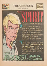 Cover Thumbnail for The Spirit (Register and Tribune Syndicate, 1940 series) #1/28/1951