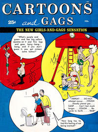 Cover Thumbnail for Cartoons and Gags (Marvel, 1959 series) #v8#1