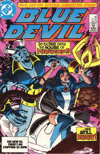 Cover Thumbnail for Blue Devil (DC, 1984 series) #4 [Direct]