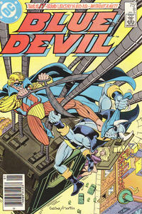 Cover Thumbnail for Blue Devil (DC, 1984 series) #8 [Newsstand]
