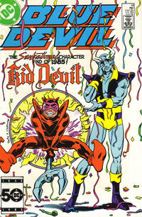 Cover Thumbnail for Blue Devil (DC, 1984 series) #14 [Direct]