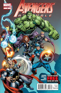Cover for Avengers Assemble (Marvel, 2012 series) #3