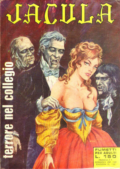 Cover for Jacula (1969 series) #2