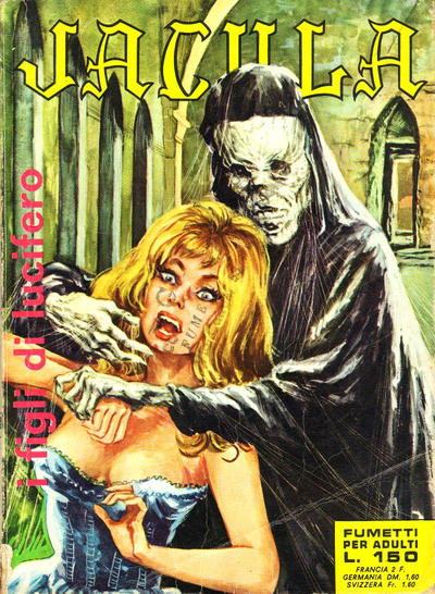 Cover for Jacula (1969 series) #21