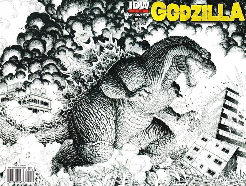 Cover for Godzilla (IDW, 2012 series) #1 [2nd Printing]