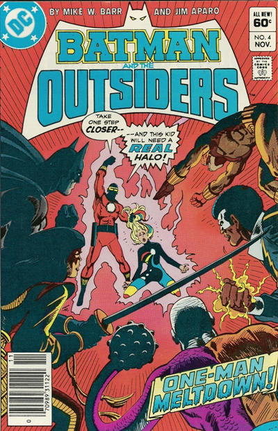 Cover for Batman and the Outsiders (1983 series) #4 [Direct]