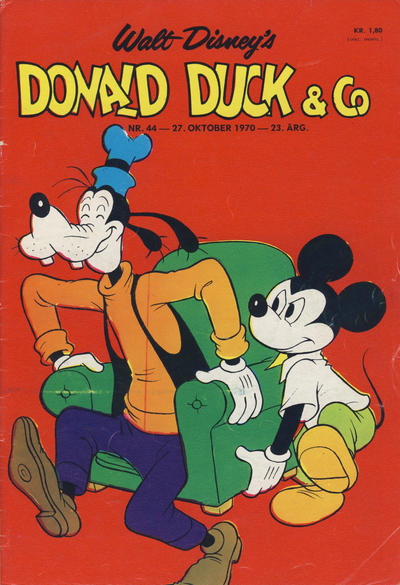 Cover for Donald Duck & Co (Hjemmet / Egmont, 1948 series) #44/1970