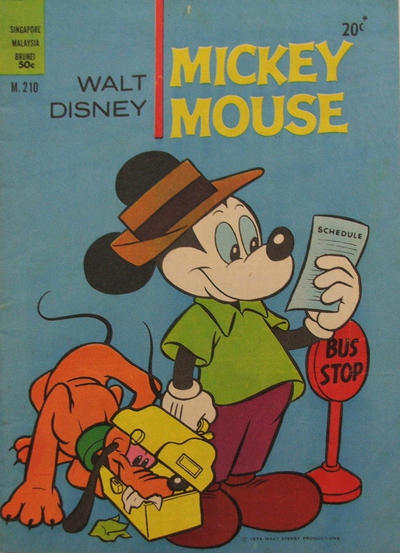 Cover for Walt Disney's Mickey Mouse (W. G. Publications; Wogan Publications, 1956 series) #210