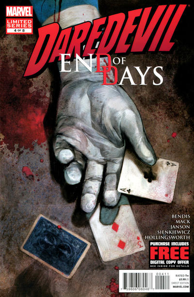 Cover for Daredevil: End of Days (2012 series) #4 [Variant Cover by David Mack]