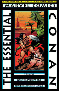 Cover Thumbnail for Essential Conan (Marvel, 2000 series) #1