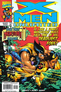 Cover Thumbnail for X-Men Unlimited (Marvel, 1993 series) #24