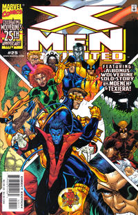 Cover Thumbnail for X-Men Unlimited (Marvel, 1993 series) #25 [Direct Edition]