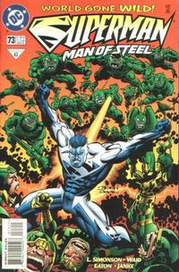 Cover Thumbnail for Superman: The Man of Steel (DC, 1991 series) #73
