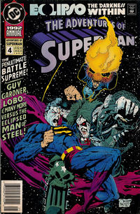 Cover Thumbnail for Adventures of Superman Annual (DC, 1987 series) #4