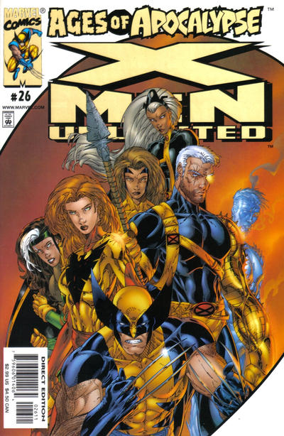 Cover for X-Men Unlimited (1993 series) #26