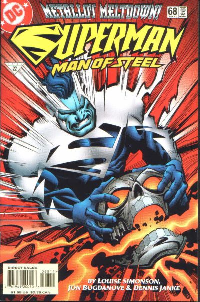 Cover for Superman: The Man of Steel (1991 series) #68
