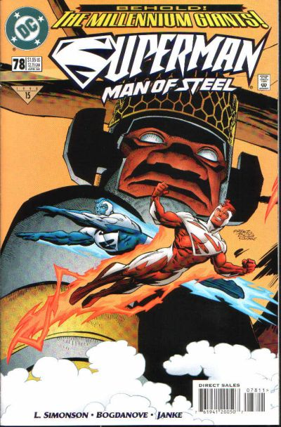 Cover for Superman: The Man of Steel (DC, 1991 series) #78