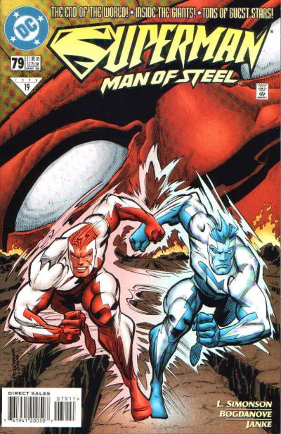 Cover for Superman: The Man of Steel (DC, 1991 series) #79
