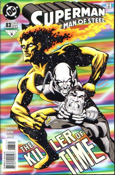Cover for Superman: The Man of Steel (DC, 1991 series) #83