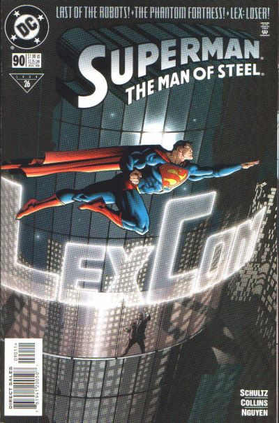 Cover for Superman: The Man of Steel (DC, 1991 series) #90