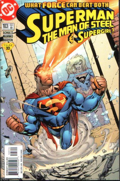 Cover for Superman: The Man of Steel (1991 series) #103