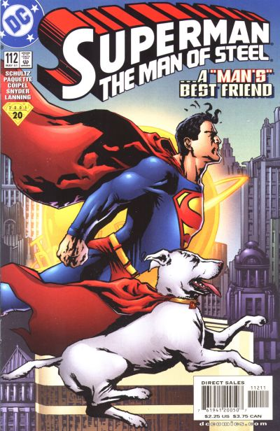Cover for Superman: The Man of Steel (1991 series) #112